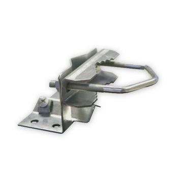 Mastfuss 20-60 mm mit Zahnschelle für Antennenmast Sat Mast Fuss Schelle Fuß