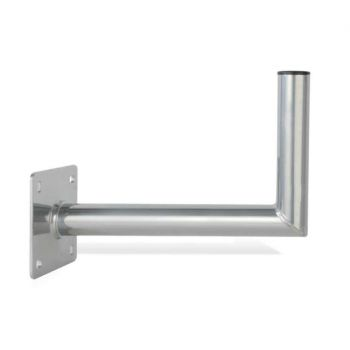 Wandhalter 450 mm Aluminium für Antennen bis 85 cm Durchmesser