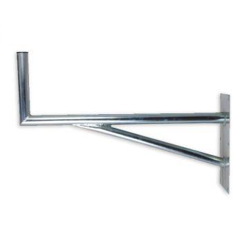 Sat halter SAT-Halterung mit Stützelement Auslegerlänge 60cm aus Stahl Wandhalter 50 80