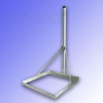 PremiumX Balkonständer für Sat/Satelliten Stahl verzinkt