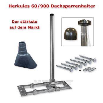 Herkules Dach-Sparrenhalter 60 /900 Mast Sat Halter inkl Montage-Set