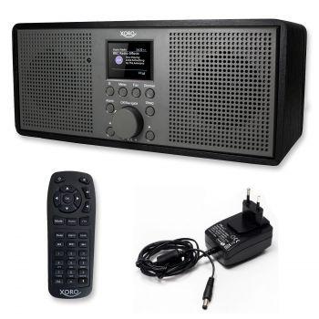 WLAN-Internetradio Akku, DAB+ FM USB MP3 Empfang, Spotify Connect