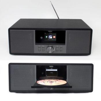Internetradio Xoro HMT 600 mit CD Player, DAB+ und UKW-Radio, Spotify Connect, MP3, UPnP, Bluetooth
