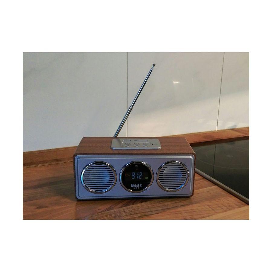 NEU UKW-Radio USB Stereo Lautsprecher FM Scan & SD Karten Anschluss