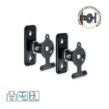 Wandhalter für Lautsprecher Lautsprecherhalter Boxenständer Belastung 2,6 kg