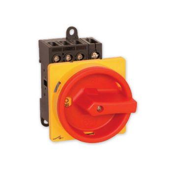 Hauptschalter Drehschalter 4-polig 25 A Not-Aus Schalter 4P25A-E Schalter