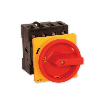 Hauptschalter Drehschalter 4-polig 40 A Not-Aus Schalter 4P40A-E Schalter