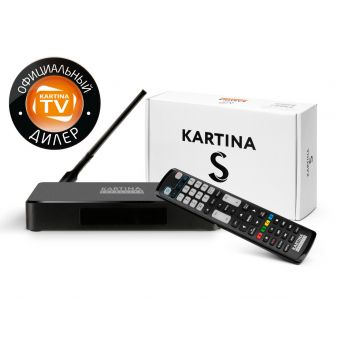 Kartina S - гибрид SAT Receiver Kartina.TV Dune HD Russ TV