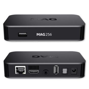 MAG 256 Original IPTV box SET TOP BOX IPTV Streamer Multimedia Internet TV USB HD