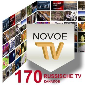 NOVOE TV 1 Monat FULL ABO IPTV Internet TV Russ TV Russische TV