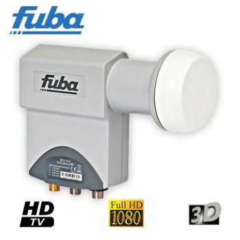 Unikabel LNB Fuba DEK 342 Unicabel Einkabel - LNB Unicable SCR 4+2 Teilnehmer Full hd 3D
