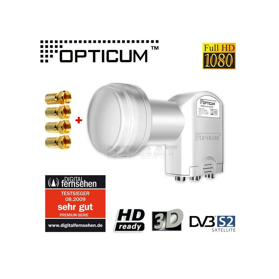 opticum quad switch lnb lqp 04h 0 1 db hdtv 4 vergoldete f stecker. Black Bedroom Furniture Sets. Home Design Ideas