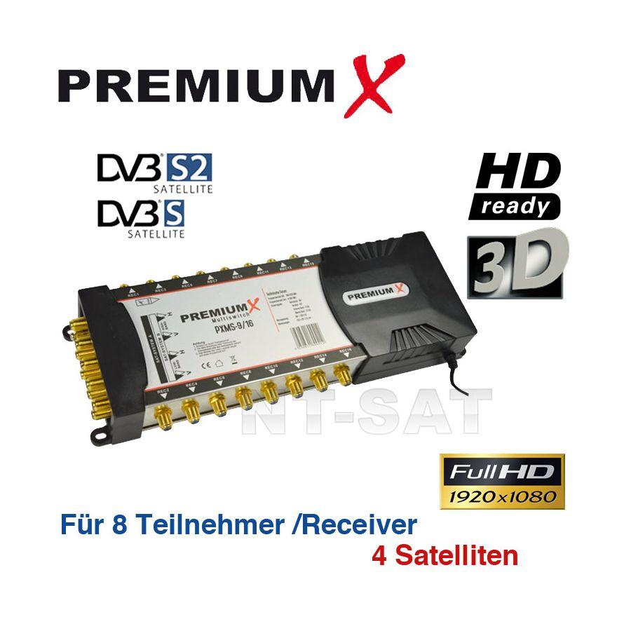 OPTICUM OMS 5//6 Multischalter DIGITAL 6 Teilnehmer Full HD 3D Multiswitch neu//