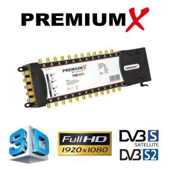 PremiumX Multischalter PXMS 9/24 Multiswitch # 24 Teilnehmer