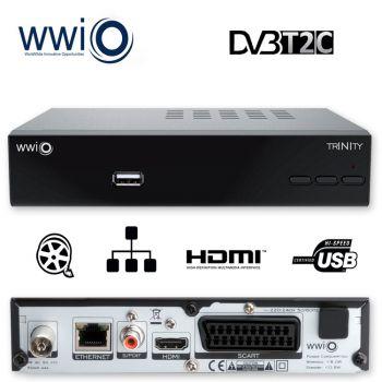 Kabelreceiver Kabel Receiver HEVC H.265 Kombo/ Receiver DVBT2 / DVBC Für Kabel Tv