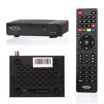 Xoro HRK 7668 HD Receiver für digitales Kabelfernsehen DVB-C Aufnahme PVR (7660)