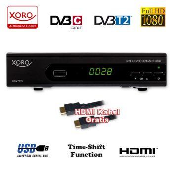 HD Kabel Receiver XORO HRM 7620 Digital (HRK 7660) Kombo Kabelreceiver DVB-C Aufnahme PVR