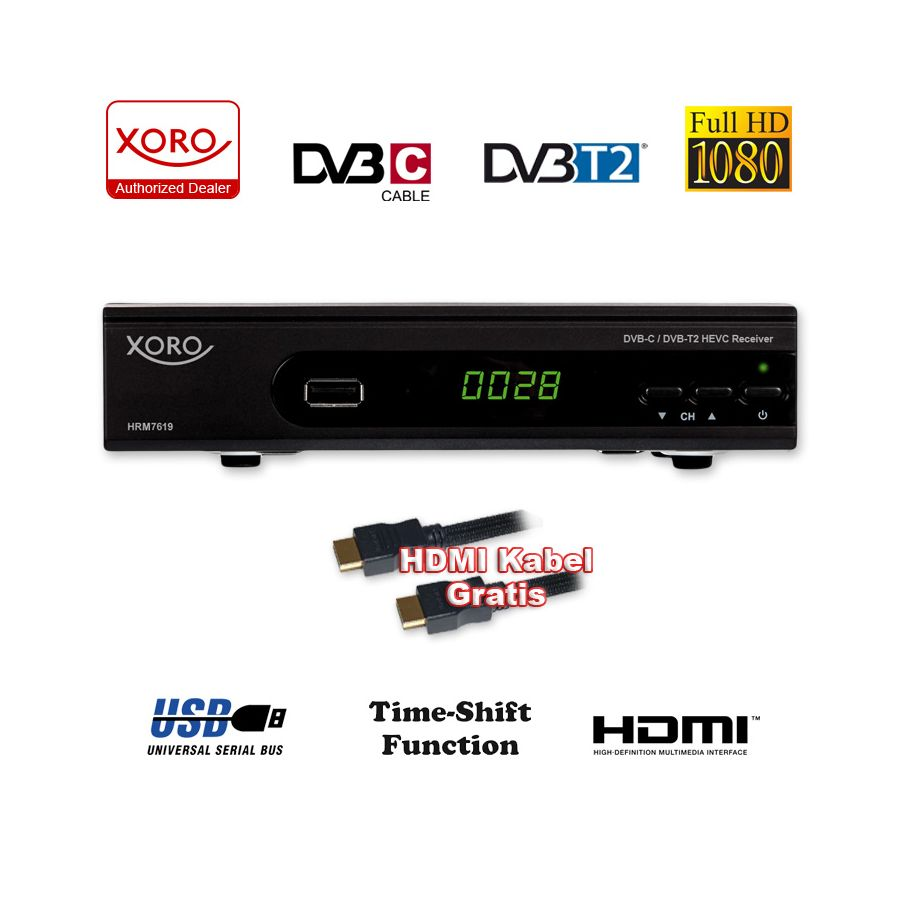 hd kabel receiver xoro hrm 7620 digital hrk 7660 kombo. Black Bedroom Furniture Sets. Home Design Ideas