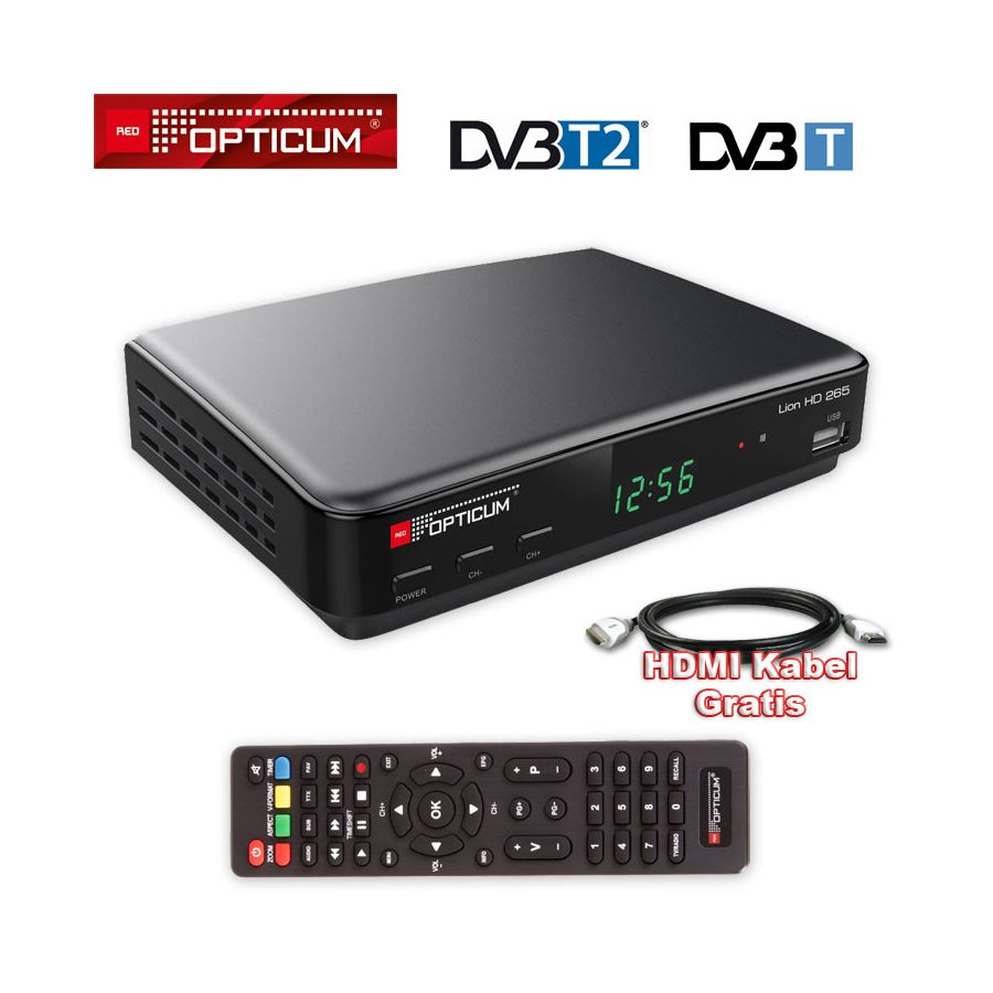 dvb t2 receiver hd dvb t 2 opticum lion dvb t hevc usb hdtv lan pvr hdmi dvbt. Black Bedroom Furniture Sets. Home Design Ideas