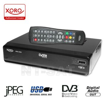 xoro hrs 2500 digital sat receiver mit usb. Black Bedroom Furniture Sets. Home Design Ideas