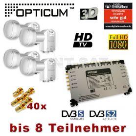 multischalter 17 8 4x opticum lnb quattro lnb full hd 3d 17 8. Black Bedroom Furniture Sets. Home Design Ideas