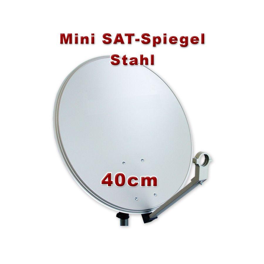 sat spiegel 40cm antenne sch ssel f r camping bakon mobil digital. Black Bedroom Furniture Sets. Home Design Ideas