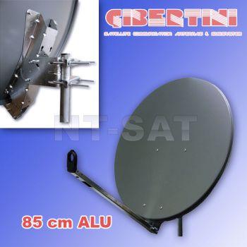 Gibertini Antenne 85cm Aluminium Antrazith