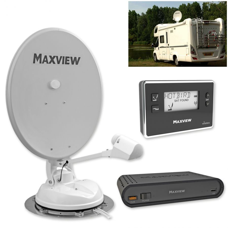 sat anlage maxview seeker wireless 65 camping. Black Bedroom Furniture Sets. Home Design Ideas