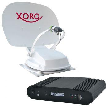 55 cm Vollautomatische Satelliten-Antenne mit Steuergerät XORO MTA 55