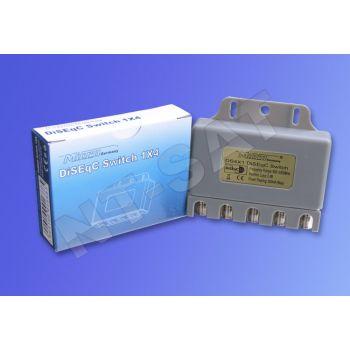 Micro DiSEqC Schalter 4/1 für 4 LNB
