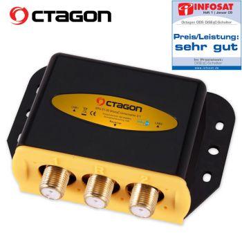 Octagon Optima DiSEqC ODS 21-02 HQ Gold