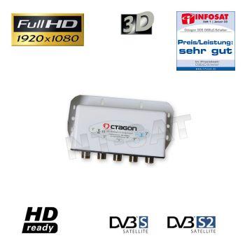 Octagon DiSEqC Schalter 4x1 ODS 41-02