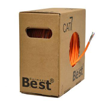100 m CAT.7 Verlegekabel BEST Gigabit Netzwerkkabel KUPFER Lan 1000Mhz S/FTP