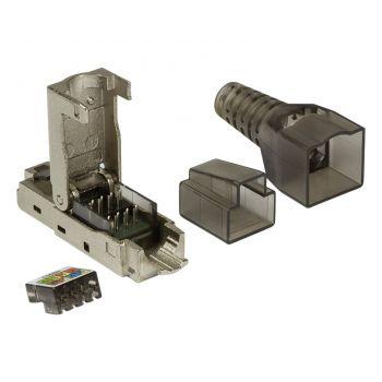 LAN Netzwerk Stecker RJ45 CAT 6A Cat 7 ohne Werkzeug LogiLink®