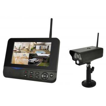 Details zu Funk Überwachungskamera Video Set von COMAG außen Kamera Videoüberwachung Digital