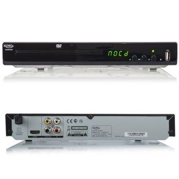 DVD-Player Xoro HSD 8460 MPEG4 USB 2.0 Mediaplayer, MultiROM, Upscaling