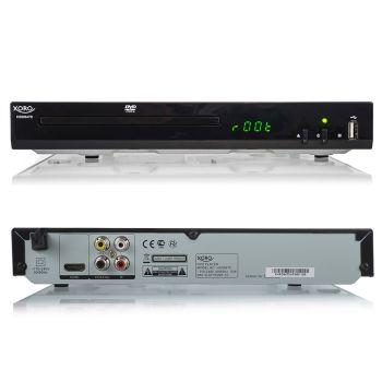 DVD-Player Xoro HSD 8470 MPEG4 USB 2.0 Mediaplayer, MultiROM, Upscaling