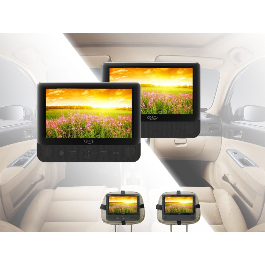 Dvd Player Auto 2 Monitore : tragbares videosystem 2 dvd player 2 monitore auto ~ Jslefanu.com Haus und Dekorationen