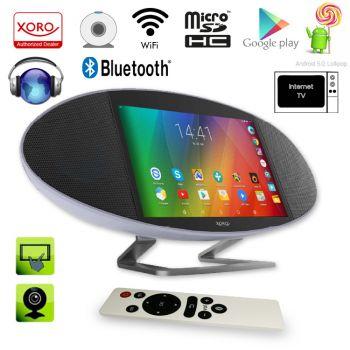 Xoro HMT 390Q Internet-TV/Radio 8GB 17,8 cm 7 Zoll Quadcore HDMI USB Android 5.1