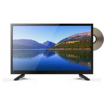 XORO HTC 2249 Full HD Fernseher mit integriertem DVD Player und HD Triple Tuner (DVB-S2/T2/C), HD Mediaplayer und CI+ Schacht
