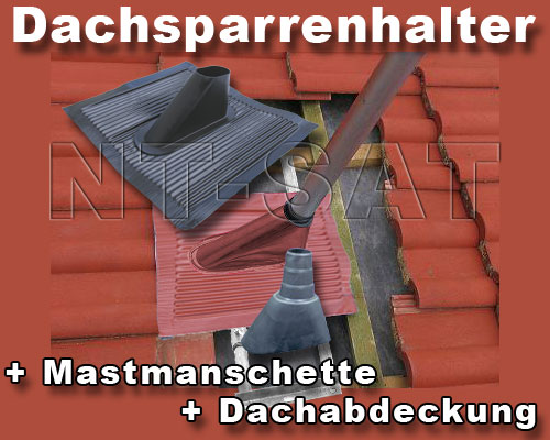dachsparrenhalter mast sat halter montage dach pfanne. Black Bedroom Furniture Sets. Home Design Ideas