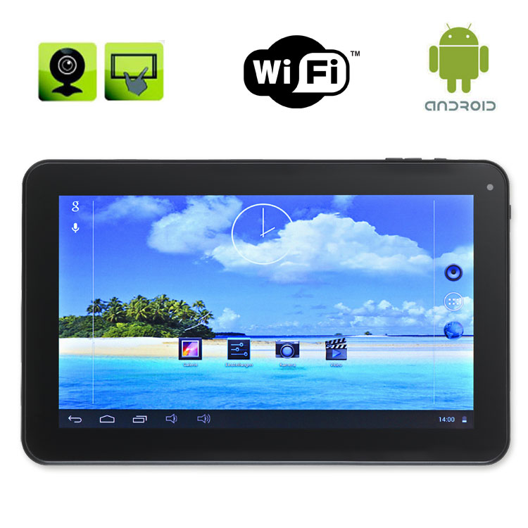 tablet pc 10 1 zoll quad core comag pc android 4 4 wifi. Black Bedroom Furniture Sets. Home Design Ideas