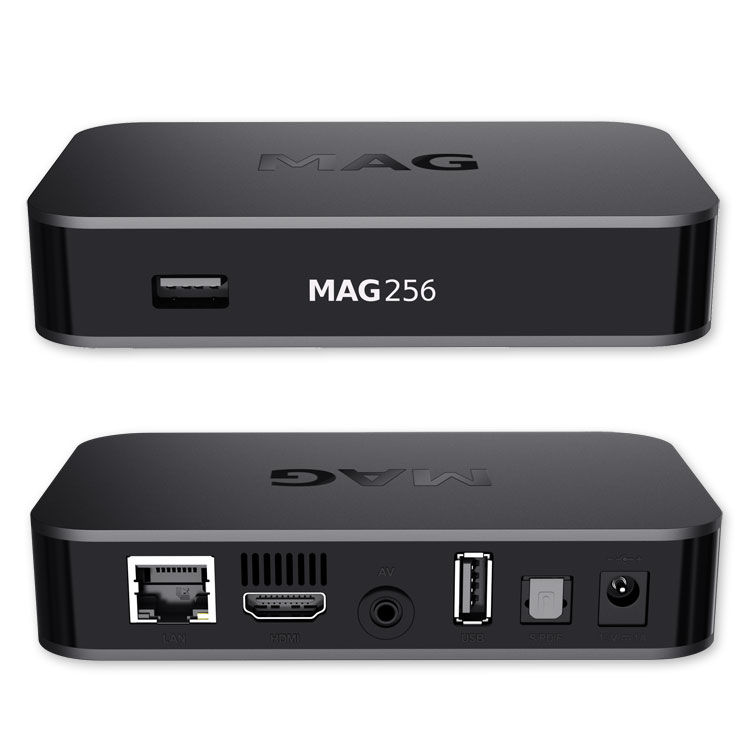mag 256 original iptv box set top box iptv streamer multimedia internet tv mag ebay. Black Bedroom Furniture Sets. Home Design Ideas