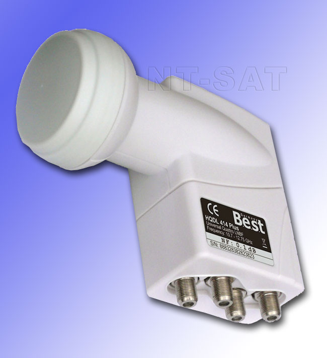 LNB Quattro 0,1dB BEST Germany