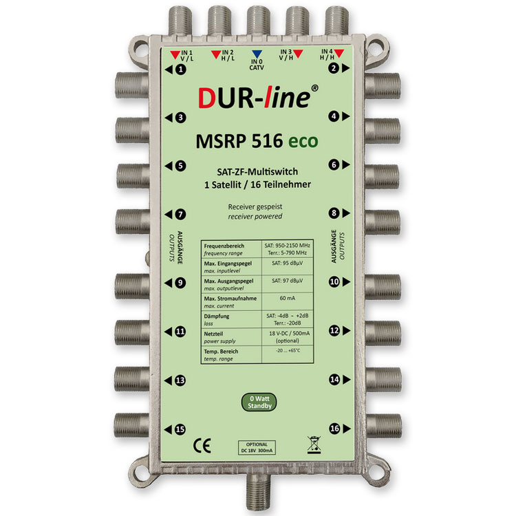 DUR-line MSRP 516 eco - Multischalter