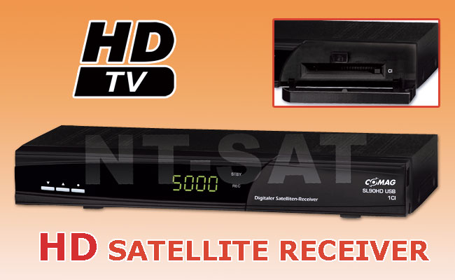 hd satelliten receiver comag sl 90 hd usb ci ebay. Black Bedroom Furniture Sets. Home Design Ideas