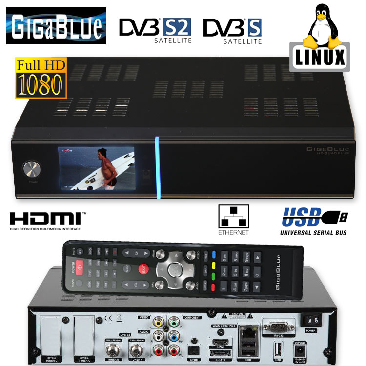 giga blue hd quad plus hdtv hbbtv lan satellite receiver ebay. Black Bedroom Furniture Sets. Home Design Ideas
