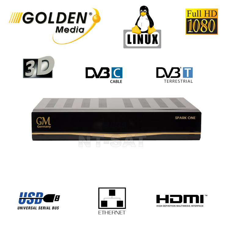 Golden Media Spark One DVB-C/T-Receiver