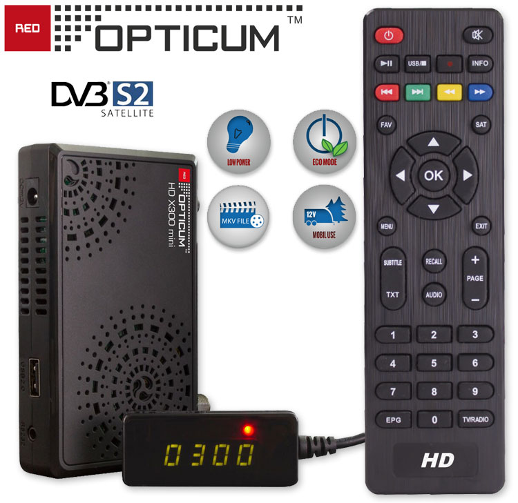 Digital Sat Receiver Opticum X300 Mini HDMI