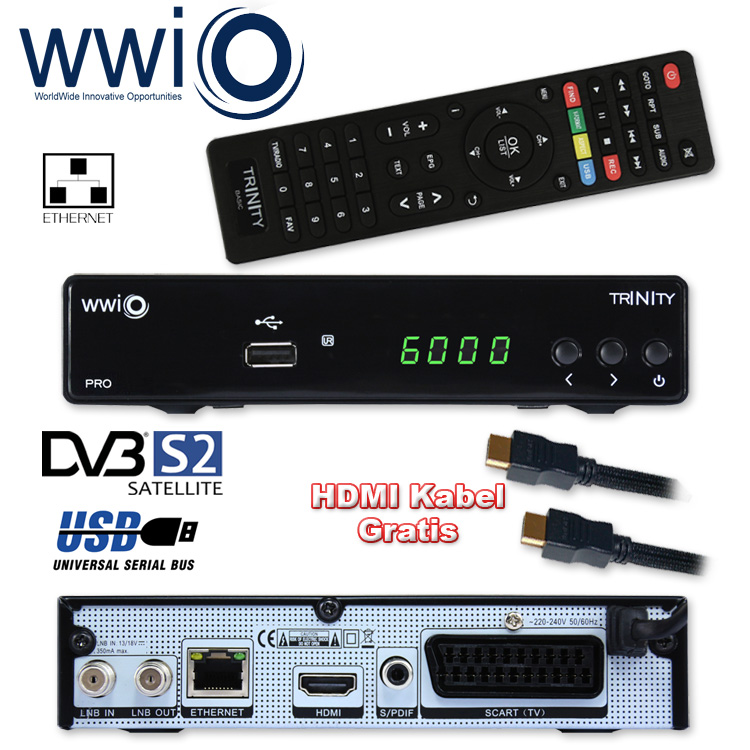hd sat receiver wwio trinity pro pvr usb hdmi lan digital xoro 8660 full hd. Black Bedroom Furniture Sets. Home Design Ideas